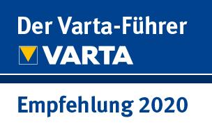 VartaSiegel - Empfehlung 2020